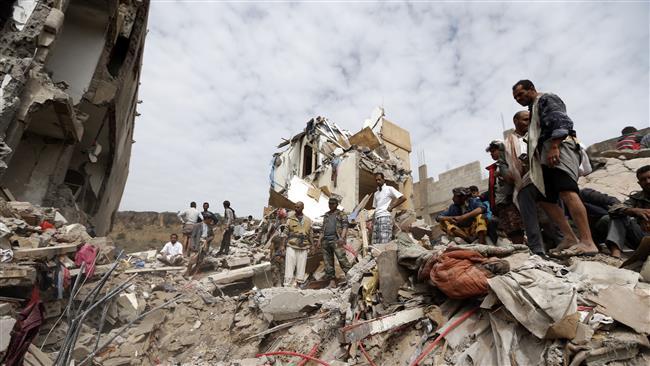 Raid in Yemen (Fonte: PressTv)