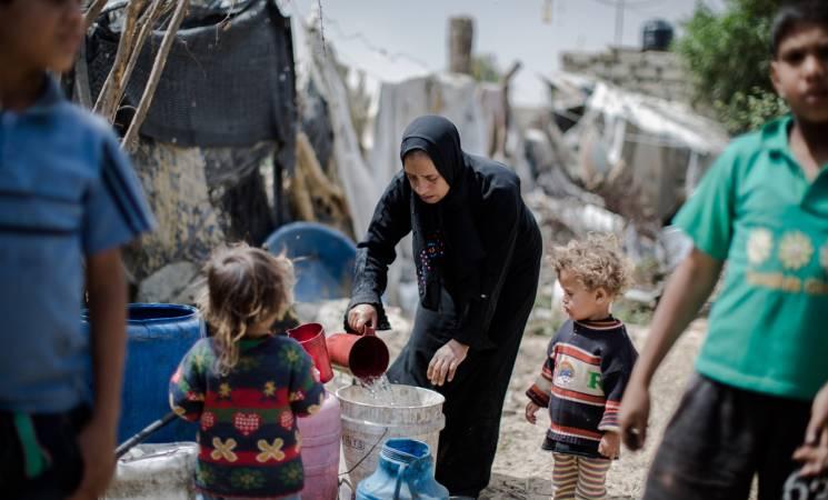 Gaza. (Foto di Tamer Hamam. Unrwa)