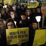 L'Italia ricorda Giulio Regeni