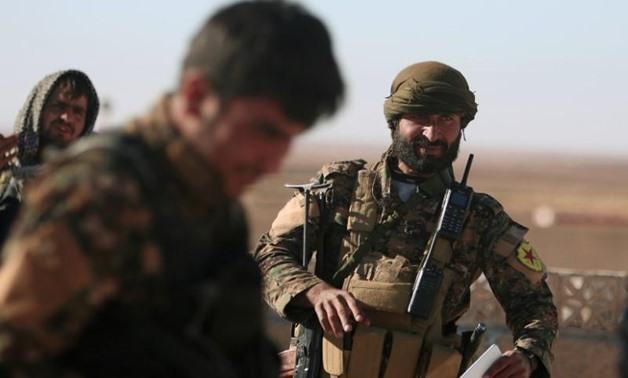 Combattenti delle Forze democratiche siriane. (Foto: Reuters/Rodi Said)