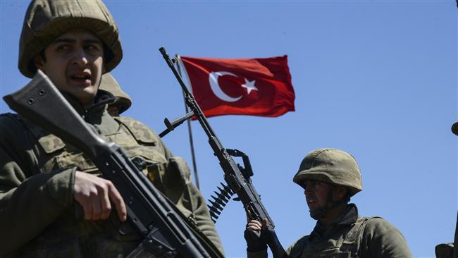 Militari turchi. (Fonte foto: Masdar News)