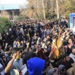 IRAN. I morti sono venti. Riformisti con Rohani e contro Usa e Trump