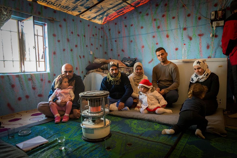 Profughi palestinesi in Iraq (Foto: Al Jazeera)