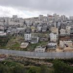 GERUSALEMME. L'esercito israeliano nei sobborghi palestinesi