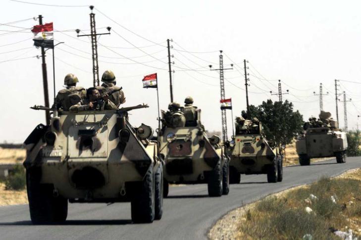 Esercito egiziano in Sinai