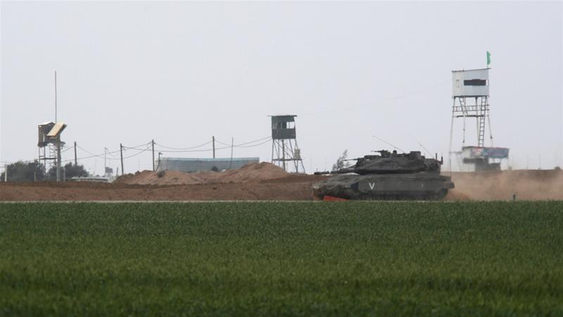 Confine Gaza-Israele (Foto: Reuters)