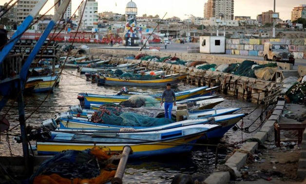 Pescatori di Gaza. (Foto: Mohammed Salem, Reuters)