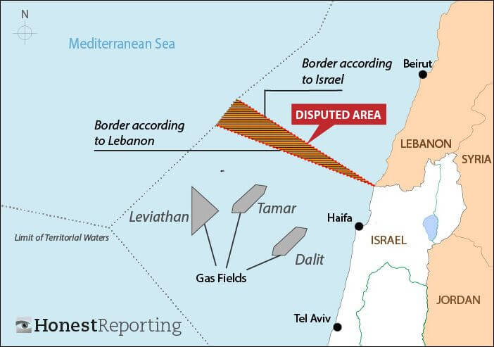 Israel-Map-Gas-Fields