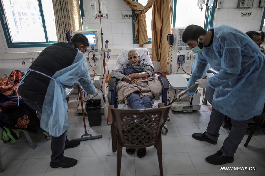 Un ospedale di Gaza (Foto: news.co)