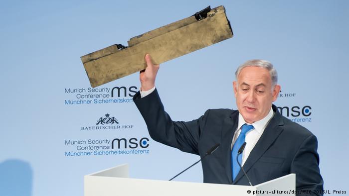 Il primo ministro israeliano Netanyahu a Monaco  (Foto: alliance/dpa/MSC 2018)