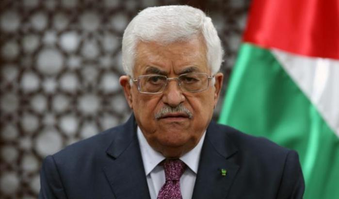 Il presidente dell'Anp Abu Mazen