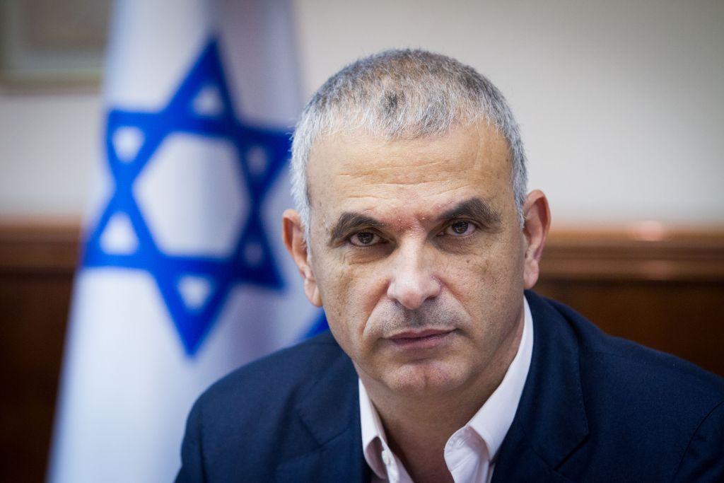 Il ministro delle finanze israeliano, Moshe Kahlon