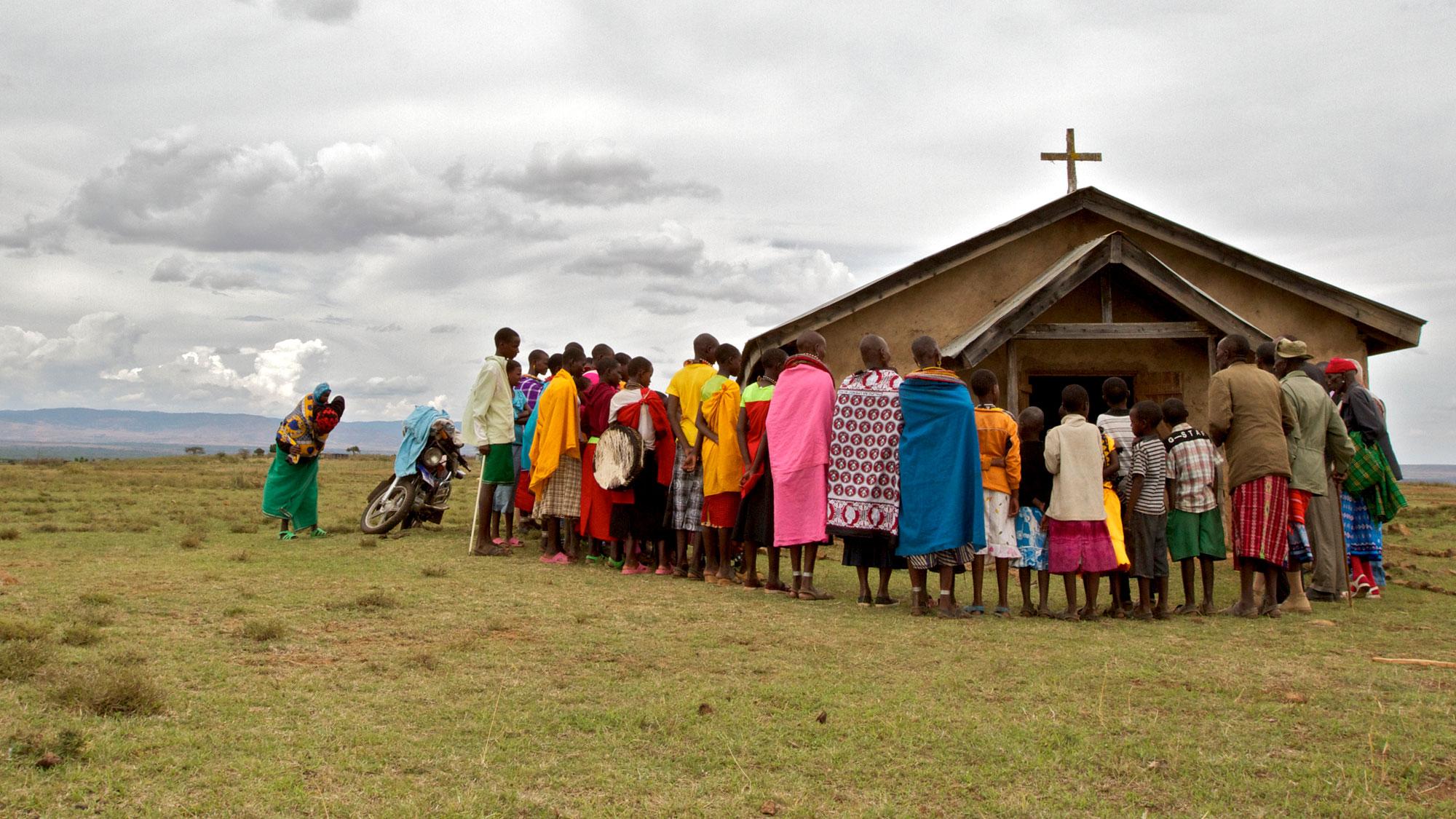Un villaggio della Tanzania (Foto: Al Jazeera)