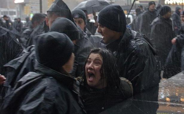 La protesta di ieri ad Ankara