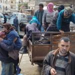 SIRIA. Fuori da Ghouta 12mila civili, altri 30mila fuggono da Afrin