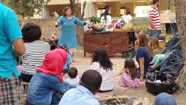Storytelling al Souq el-Soudfeh, Amman (foto di Sally Shalabi)