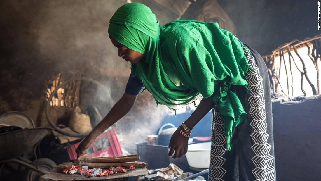 Kenya, panetteria nel campo di Kakuma (Foto: Cnn)