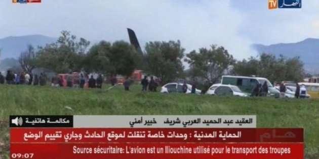 Le immagini del disastro di oggi tratte dalla tv algerina