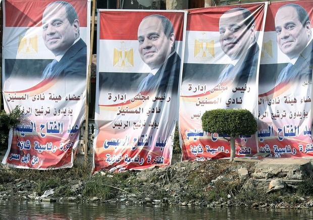 Il presidente egiziano al-Sisi . (Foto: Reuters)