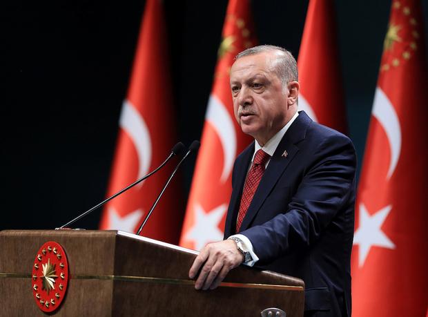 Il presidente turco Erdgoan (Foto: Reuters)