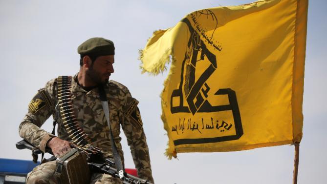 Un combattente iracheno delle Pmu