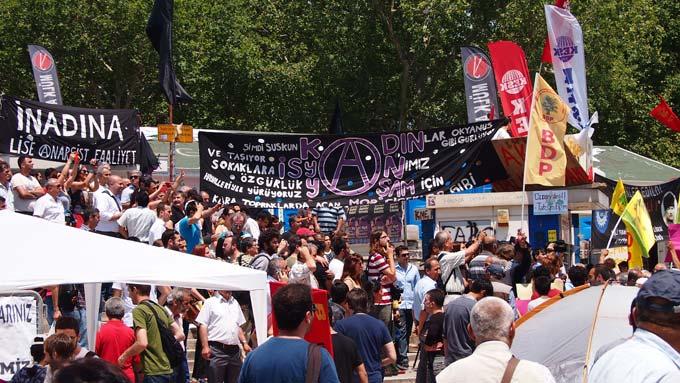 Gezi Park nel 2013