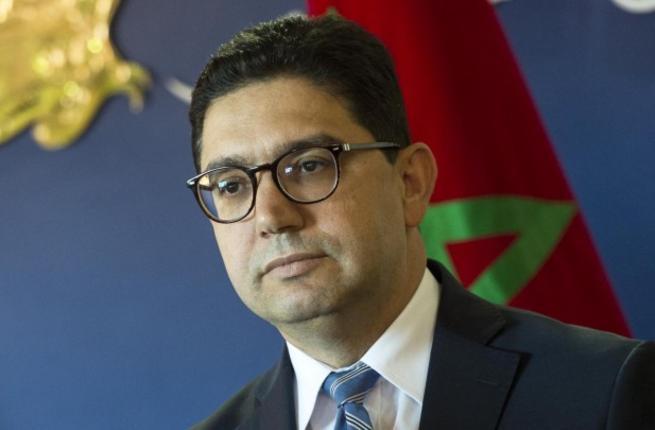 Il ministro degli esteri marocchino Nasser Bourita (foto Afp)