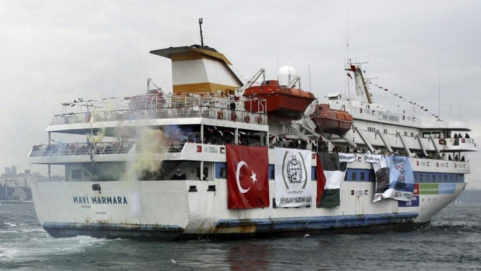 Il traghetto turco Mavi Marmara