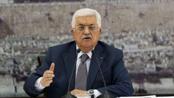 Il presidente dell'Autorità Palestinese, Mahmoud Abbas