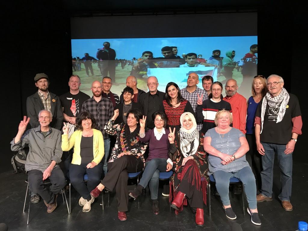 I partecipanti alla conferenza (Foto di Fatin Al-Tamimi)