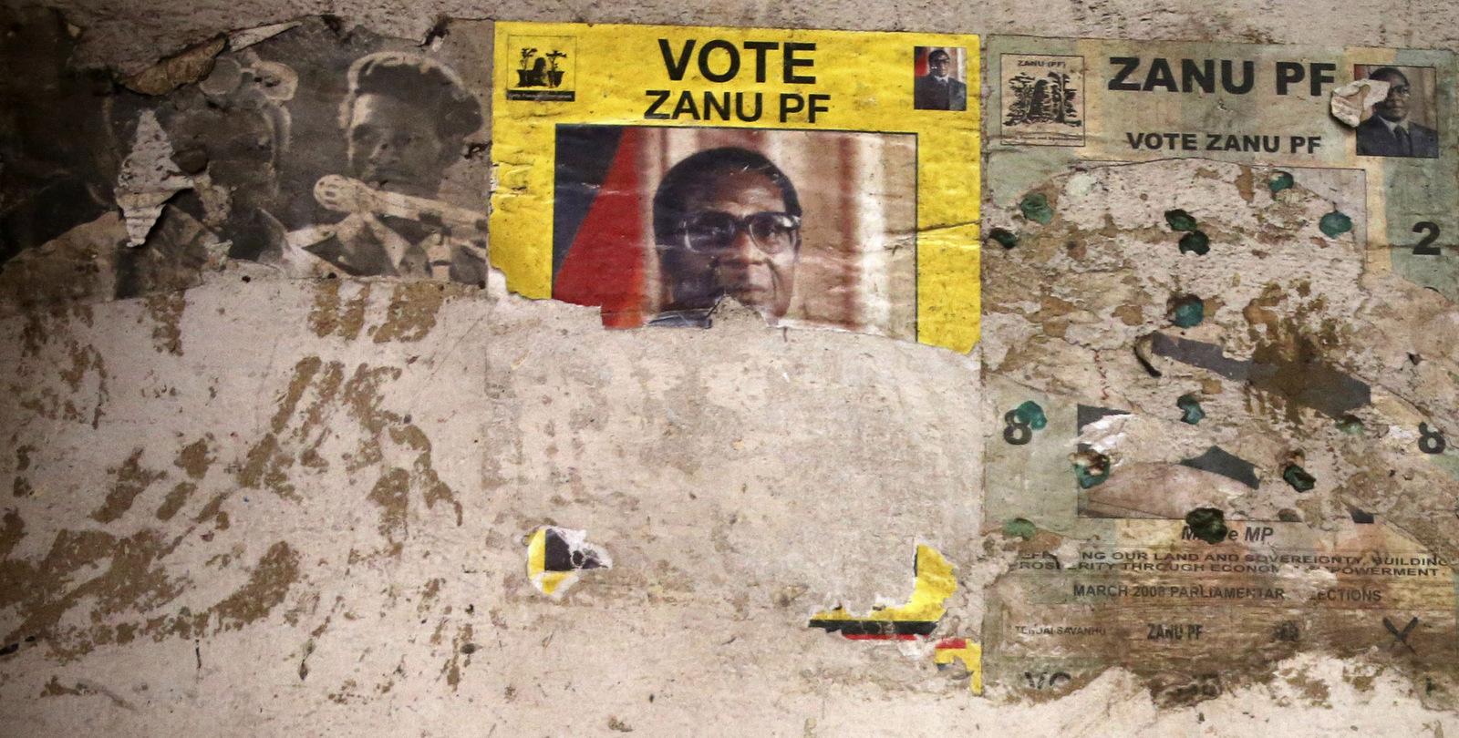 Campagna elettorale dello ZANU-PF in Zimbabwe (Foto: AP)