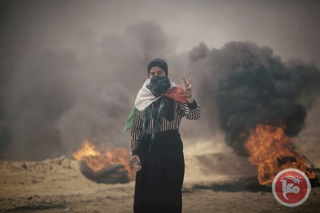 A Gaza ieri (Foto: Ma'an News)