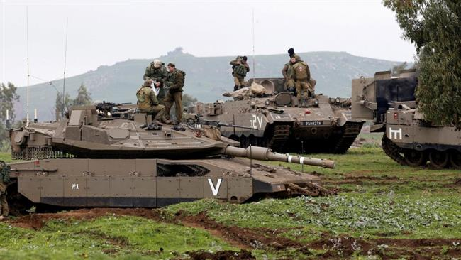 Soldati israeliani sul Golan (Foto: Press tv)