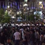 PALESTINA. Autorità palestinese reprime protesta in sostegno di Gaza