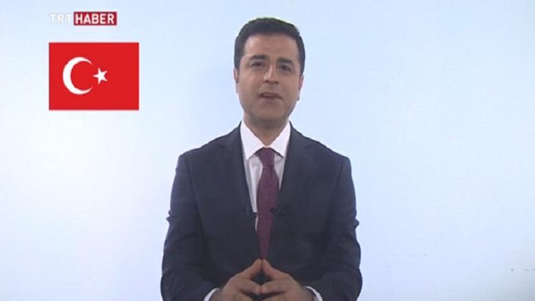 Il discorso in tv di Selahattin Demirtas