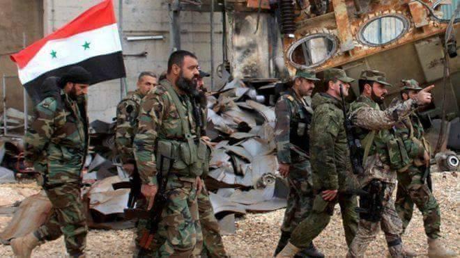 Truppe governative siriane