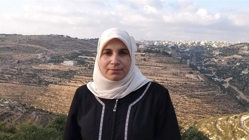 La giornalista palestinese Lama Khater