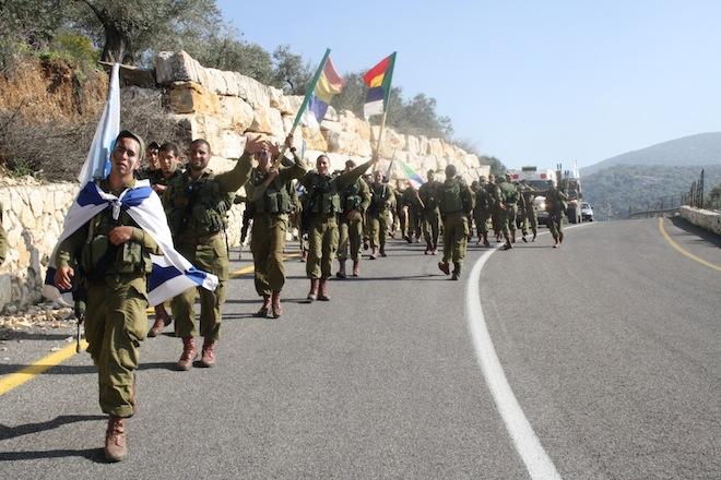 Soldati drusi israeliani del battaglione Herev