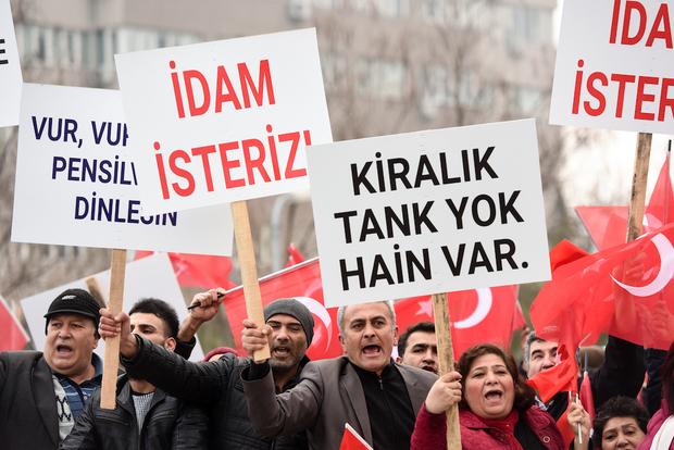 TURKEY-POLITICS-COUP-TRIAL-DEMO