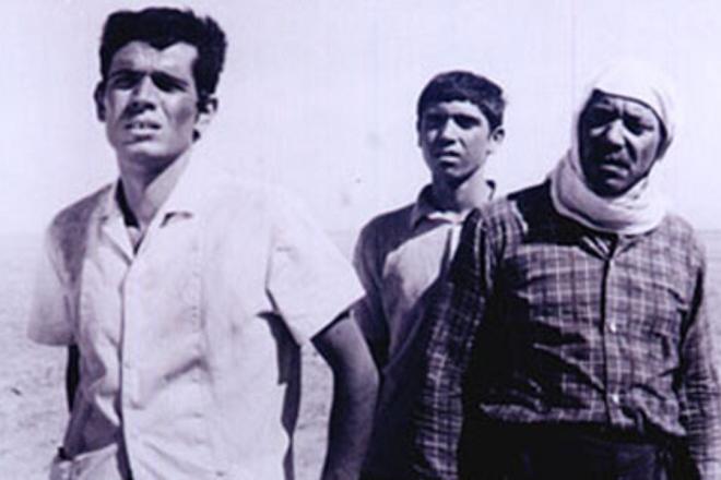 """Una scena del film """"Al-Makhdu'un"""", del regista Tawfik Saleh, girato nel 1972 e ispirato al romanzo di Kanafani"""
