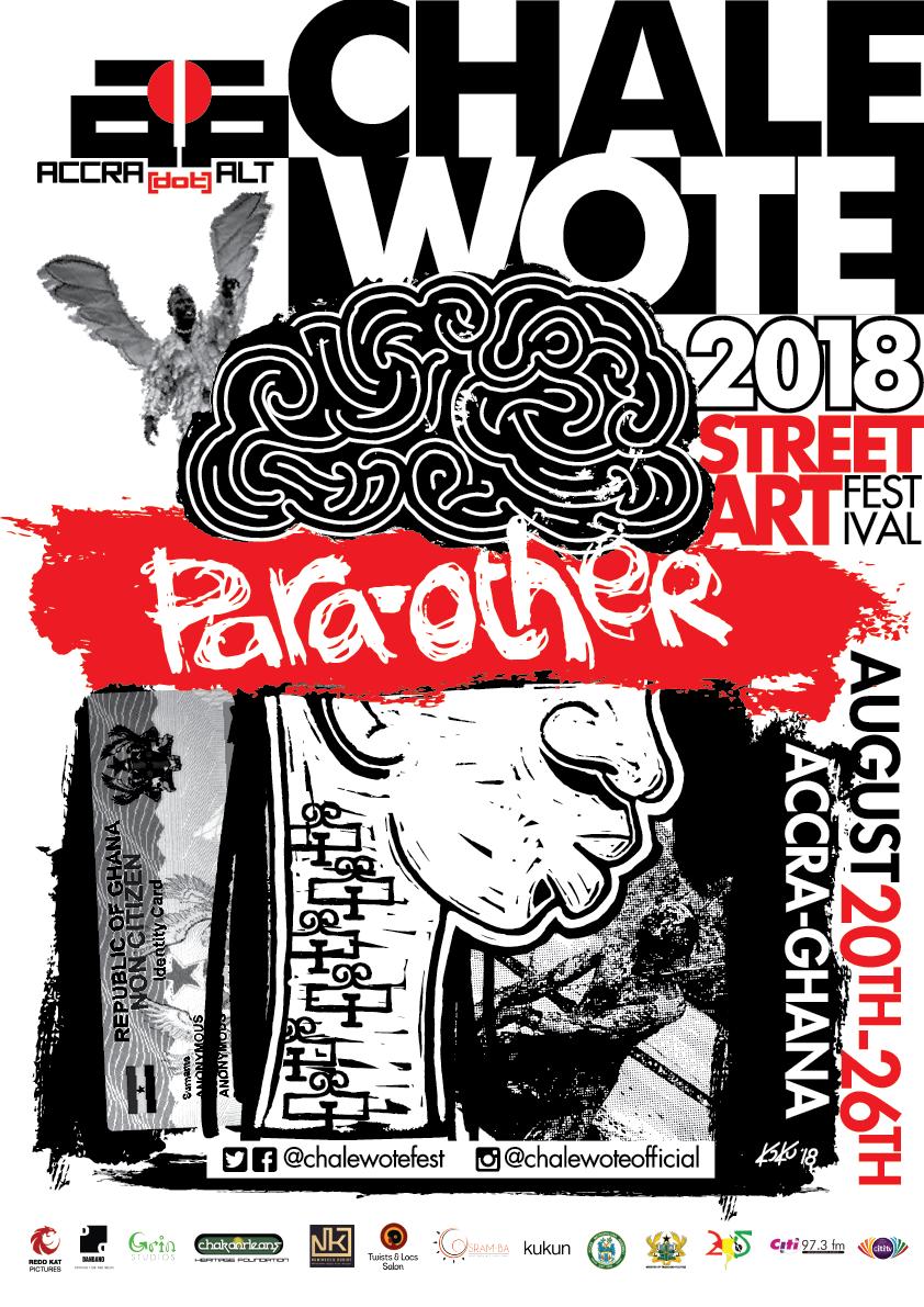 Frontespizio della brochure dell'evento in Ghana