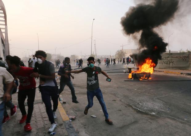 Proteste a Bassora (Foto: Reuters)