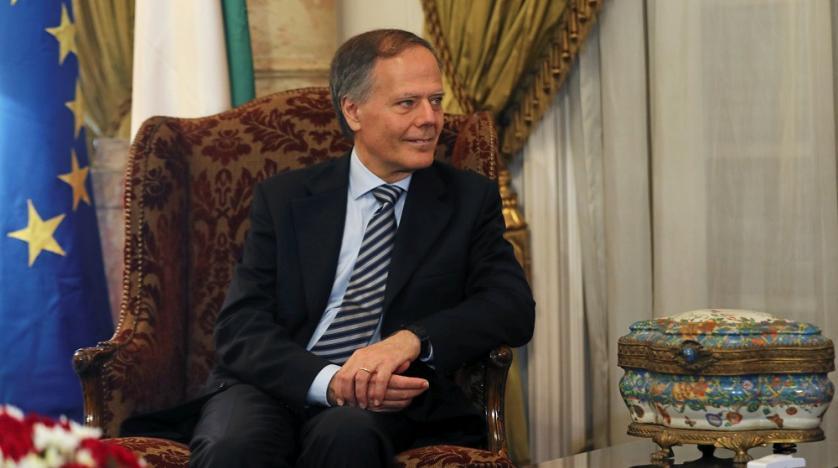 Il ministro degli esteri italiano Moavero Milanesi