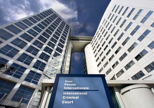 Nella foto: la Corte penale internazionale