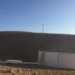 CISGIORDANIA. Palestinesi costruiscono il villaggio di Wadi al-Ahmar