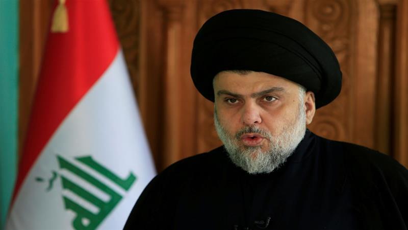 Il religioso al-Sadr (Fonte foto: al-Jazeera)