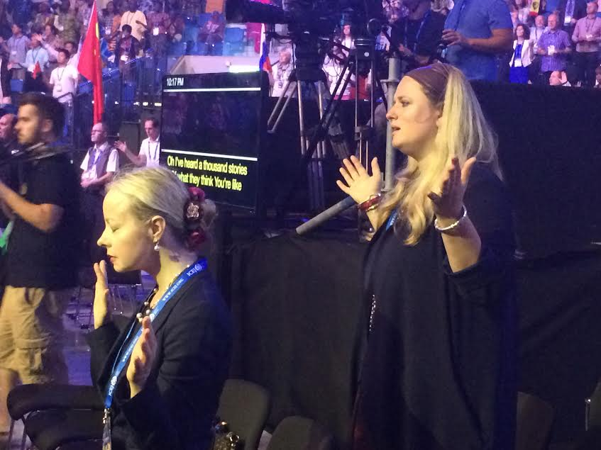 Le celebrazioni in Israele delle delegazioni di cristiani sionisti (Foto: Michele Giorgio/Nena News)