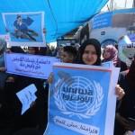 GAZA. Mille licenziati protestano contro i tagli dell'Unrwa