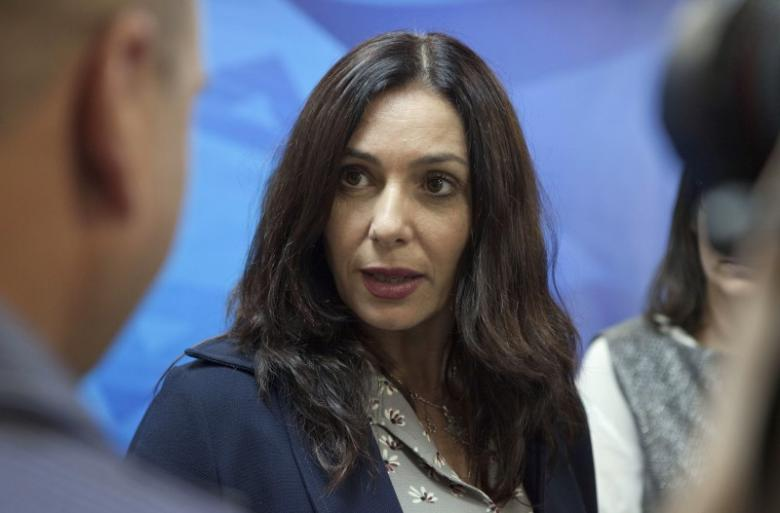 Israel's Culture Minister Regev arrives to cabinet meeting in Jerusalem