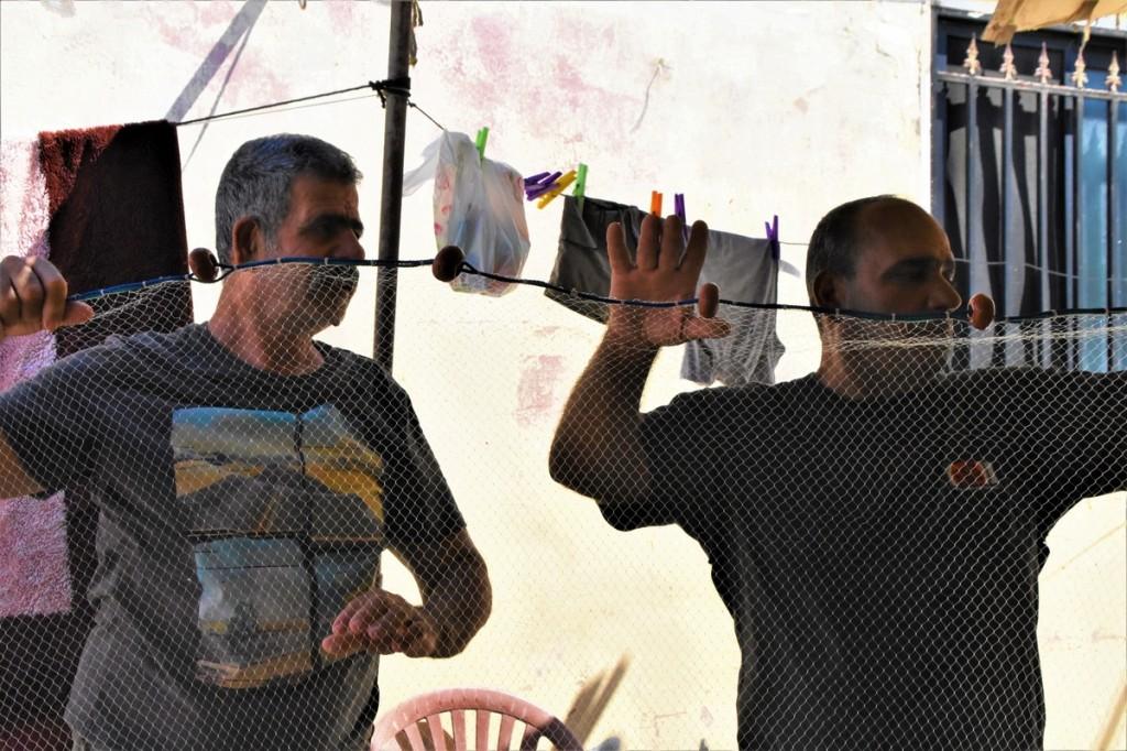 Pescatori palestinesi (Foto: Maria Luisa Colli/Nena News)